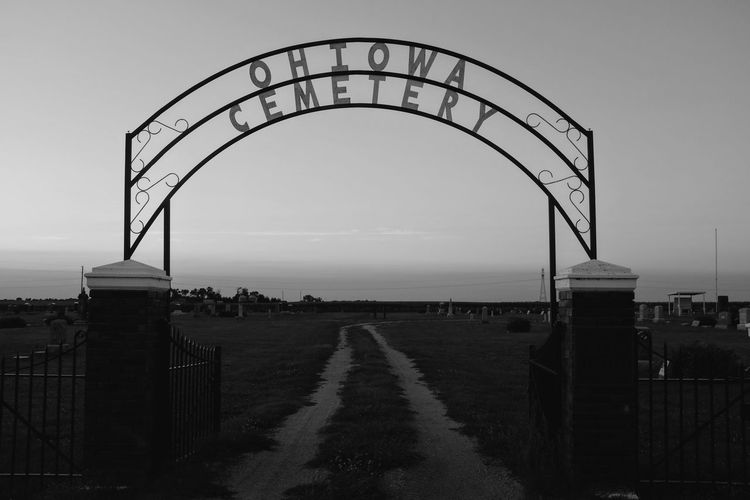 Visual Journal August 2017 Ohiowa, Nebraska A Day In The Life Camera Work Cemetery Everyday Lives EyeEm Gallery FUJIFILM X100S Nebraska Ohiowa, Nebraska Photo Essay Rural America Small Town America Storytelling Summertime Travel Visual Journal Architecture B&w Photography Built Structure Clear Sky Day Eye4photography  Monochrome Monochrome Photography Nature No People On The Road Outdoors Photo Diary Practicing Photography Road Road Trip Sky Small Town Stories The Way Forward