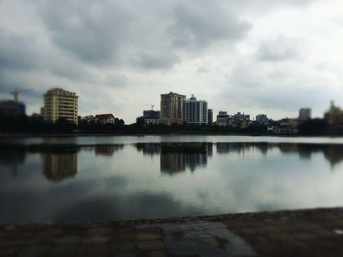 Giang Vo lake, Hanoi, Vietnam First Eyeem Photo