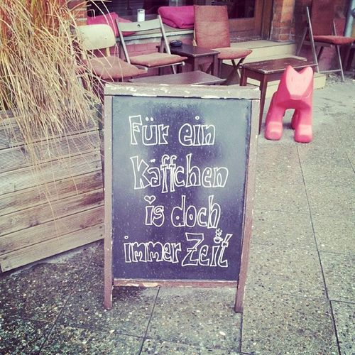 @mercedes82 da denk ich gleich an dich! <3 Berlin Coffee Loveyoukaffeetante
