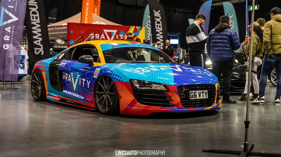More colours than a rainbow! Airlift Vehicle Supercar Audi Stance Show Car Car Transportation Motor Vehicle First Eyeem Photo