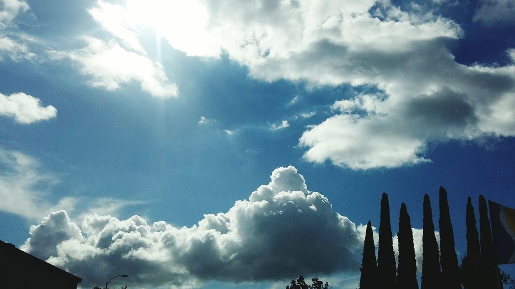 After an El Nino storm in San Diego! Elnino2016 Sandiego_ca Clouds And Sky Clouds After The Rain Cumulonimbus