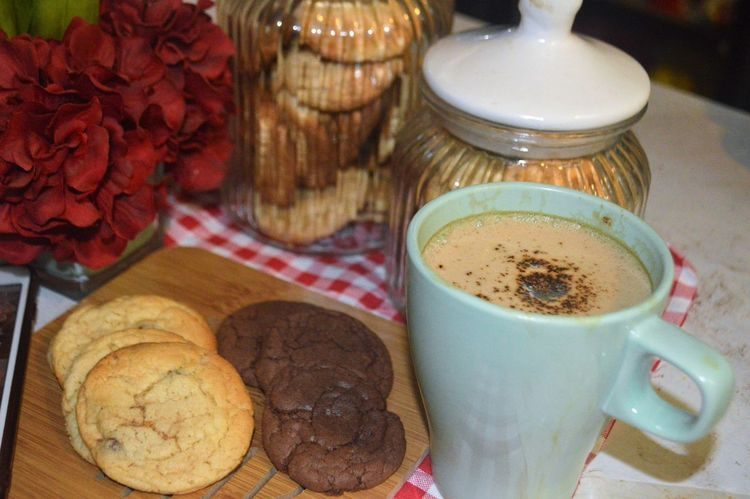 Baked Breakfast Close-up Coffee Coffee - Drink Coffee Cup Cookie Crockery Cup Drink Food Food And Drink Freshness Glass Indoors  Indulgence Mug No People Ready-to-eat Refreshment Snack Still Life Sweet Food Table Temptation