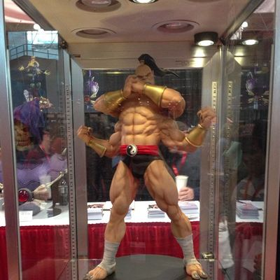Coolest Goro I have ever seen! NYCC Nycc2013 Mortalkombat MK Goro Toycrewbuddies Toycollector Toycommunity Toypops2