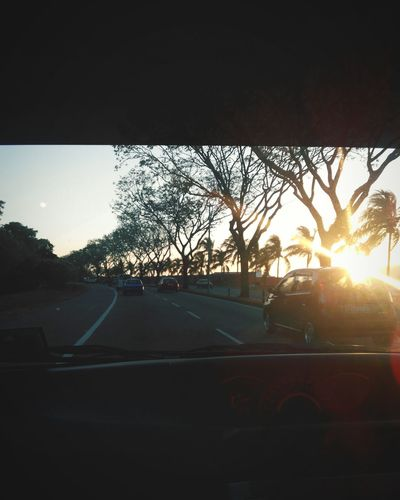I never get tired of our sunsets. No two pictures are ever the same, but they're all special in their own ways. Home Scenery Sunsets Kk City Photos Twominutehipster This Is My World This Is My Life