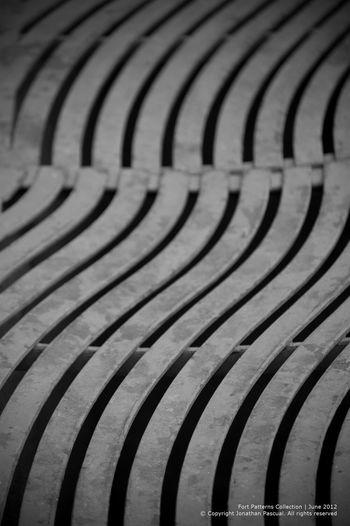 Street canal in Fort High Street. Eeyemphilippines Monochrome Patterns Streetart Blackandwhite Photography