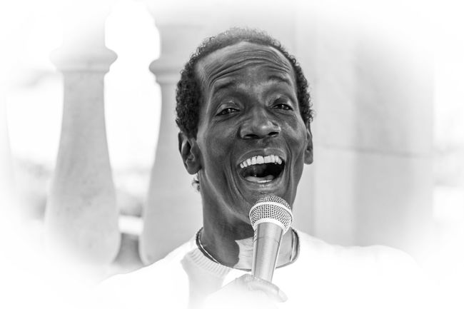 Black And White Black People Charles Role Close-up Concert Headshot Live Live Music Mallorca Musician One Person Peguera People Real People Singer  Smiling