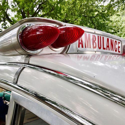 Vintage Ambulance Ambulance Ambulance Lights Ambulance Flashers Pontiac Bonneville Antique Ambulance Detail