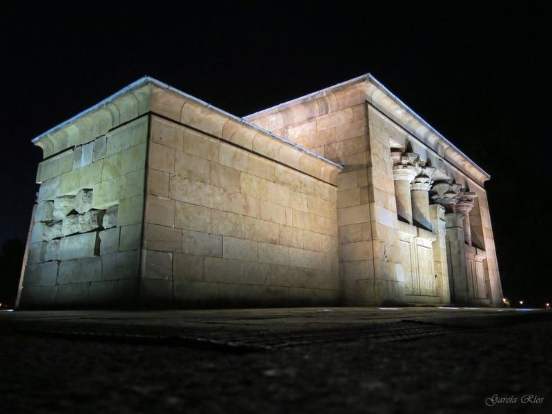 Templo De Debod Madrid Spain Madrid España🇪🇸 SPAIN Spain♥ Manu Manu García Canonphotography Canon Powershot G15 Canonespaña Noche Nigth  Egipto Egypt Arquitecture Architecture Europa Europe