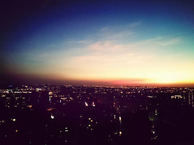 From the balcony Sunset Sky Sun Taiwan