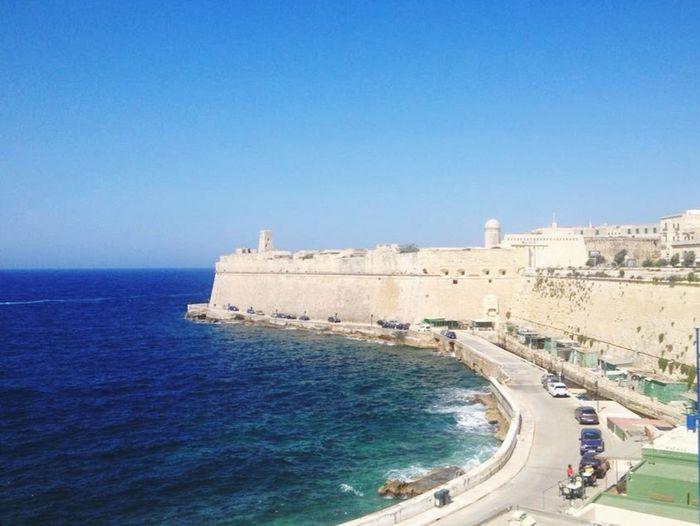 La Valletta Fort St.Elmo Malta Island Europe Sea Me Around The World Traveling Summer Holiday