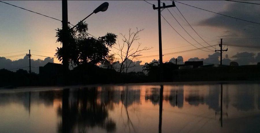 Siluetphoto Morning Sky