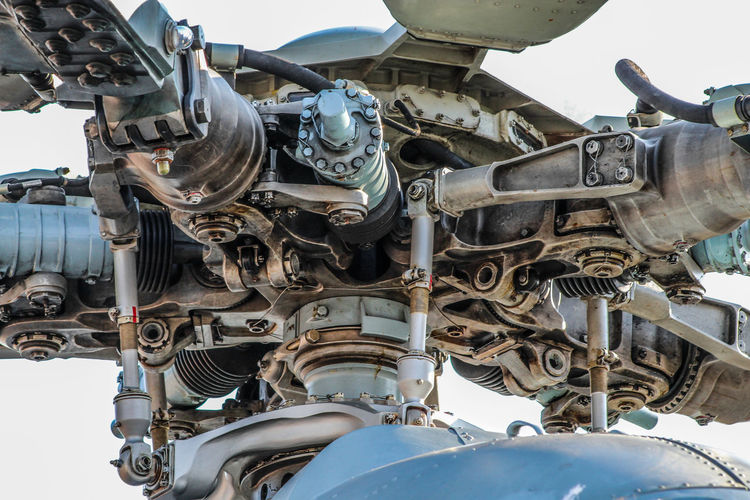 helicopter main rotor Helicopter Mi 8 Helicopter Photography Helicopter Part Croatia Military Helicopter Technology Sky Close-up Built Structure