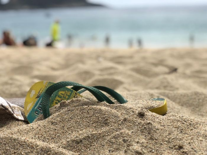 Beach Sand Land Focus On Foreground Nature Sea Day Water Close-up Personal Accessory