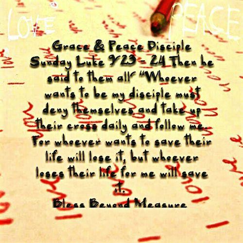 Grace & Peace Disciple Sunday