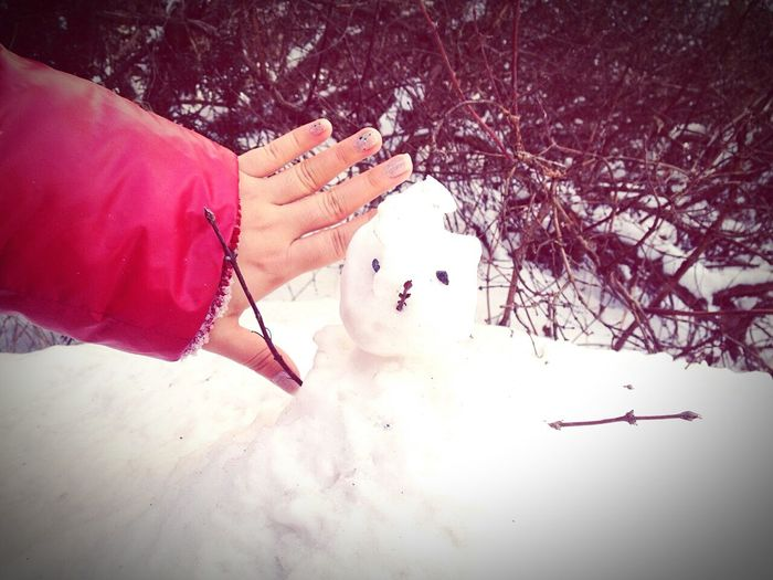 Hey I just met you, and this is crazy, and here is my number, so call me maybe, ♥little white snow man?