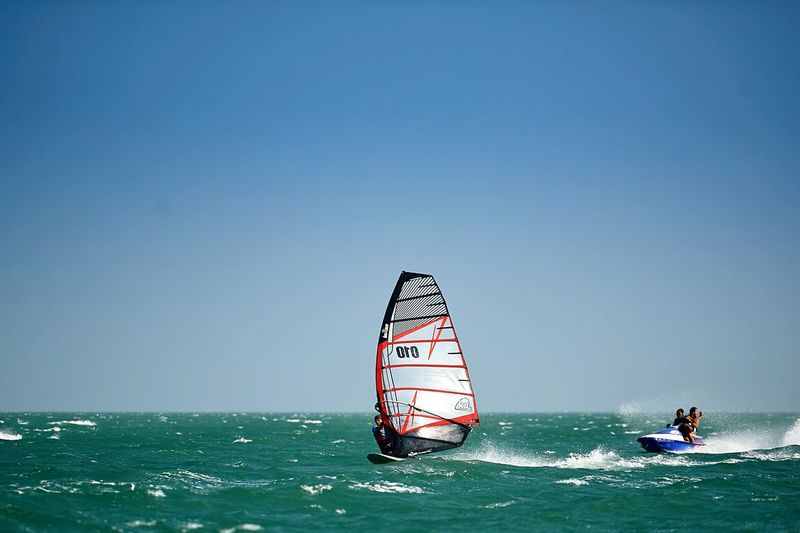 Going The Distance in Vietnam Muine Traveling Lifestyle Sea Water EyeEm Water Shots Windsurfing Surfing