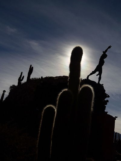 Shadows & Lights Contrast Humahuaca Jujuy, Argentina Monument Outdoors Silhouette Sky