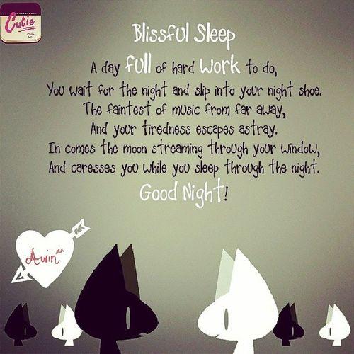 Nighty night! Assalammualaikum