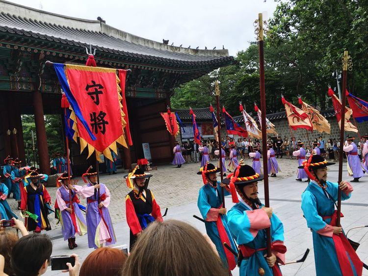 Seoul, Korea Traditional Culture IPhone