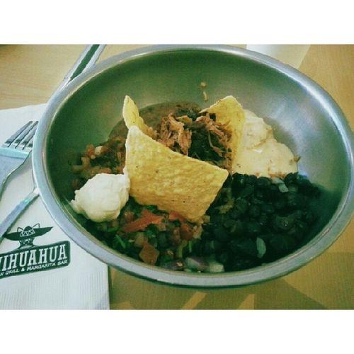 Pork borito bowl. Rip fit body. Lol Foodporn Borito Mexican