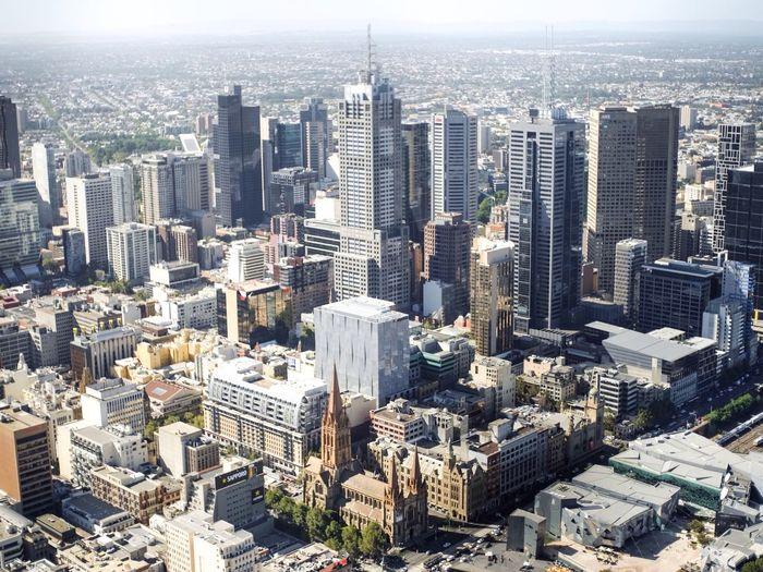 Flying High City EyeEm Melbourne City Melbourne Skyline Birdview Drone