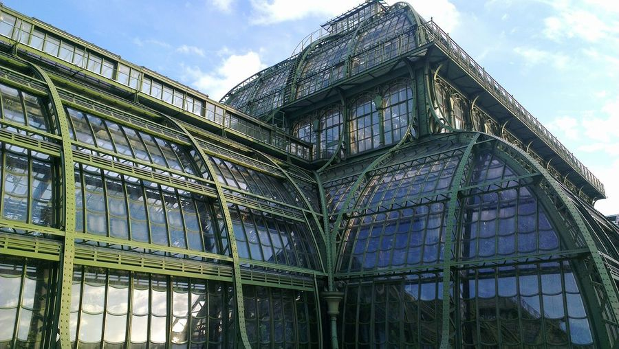 Architecture Geometric Shape Steel Glas And Metal Architecture Palmenhaus Schönbrunner Palmenhaus Palm House Wien Vienna
