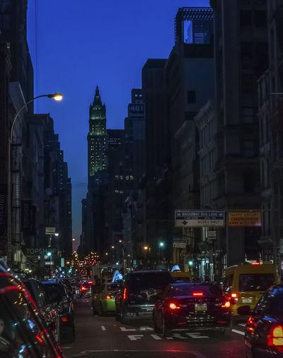 New York at