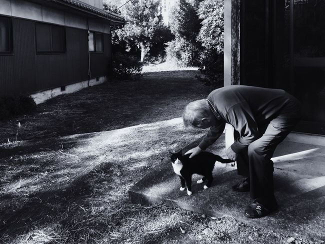 // & my Japanese sensei(teacher) is so kind & funny // Candid Candid Photography Monochrome Photography Cat Ultimate Japan Blackandwhite Bnw Black And White EyeEm Shootermag Shootermag_japan Japan