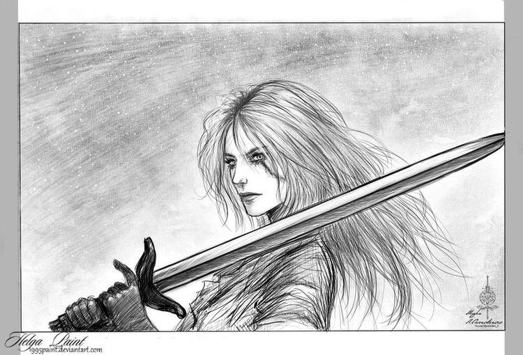 Art Ciri Cirilla Cirithewitch Fantasy One Person Thewitcher Thewitcher3wildhunt