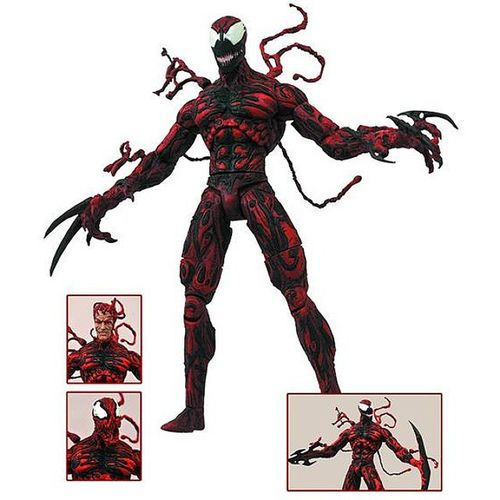 No available for preorder at Bigbadtoystore is this Marvel Delect Carnage! Wow does this figure look good! Its going for $22.99 and is to be released in March 2015. Preorder soon because I know he will sell out!