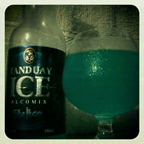 Tanduay Ice Alcomix Blue illusion instagood picoftheday photooftheday bestoftheday statigram GalaxyY kagesa