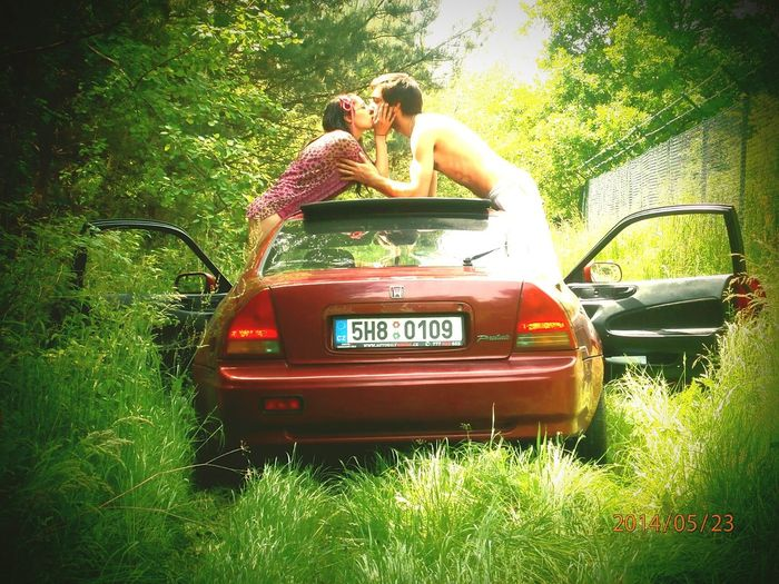 Love Is In The Air Honda Prelude Girlfriend Summer Just Chillin'