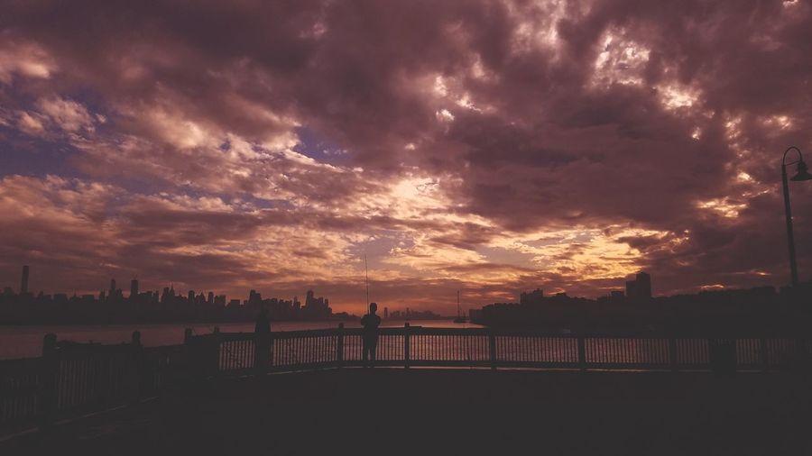 Sunset Cloud - Sky Awe Sky Landscape Scenics Outdoors Urban Skyline Cityscape Beauty In Nature Nature City