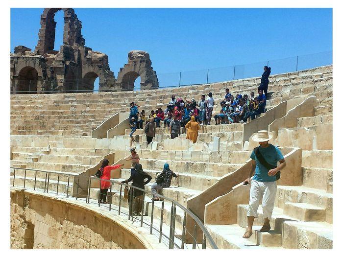 Tunisia El Jem El Jem Coliseum
