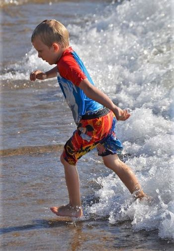 Running Into Water Running In The Waves Childhood Memories Children Photography Childhood Boy Lake Michigan Lakeview Waves Sand And Water Sand And Beach St Joseph Mi Beach Sand MichiganSon