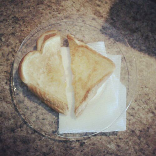 He made me a grilled cheese :) Love Grilledcheese Bfoftheyear Cheese delicious food