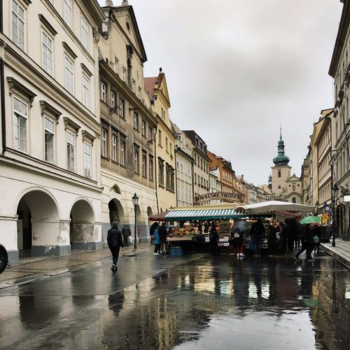 Market Visit Prague City Living Tourist Spot