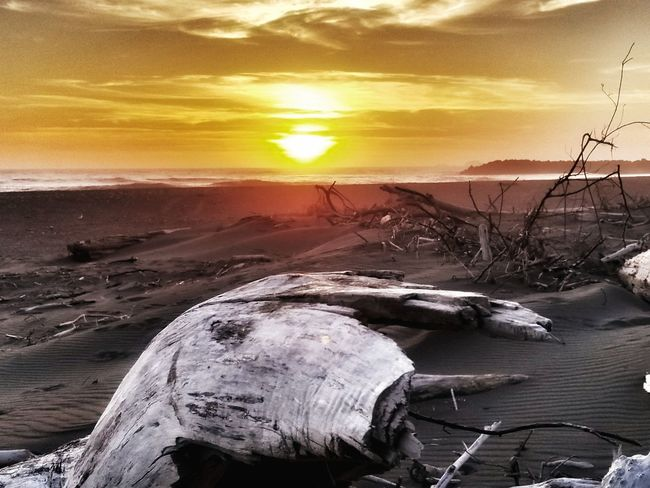 Grymmreaper Sunset Beach Outdoors No People Sea Nature Sun Sunlight Cloud - Sky Sand Landscape Water Fishing Net Cold Temperature Sky Day Scenics Mountain Beauty In Nature Sand Dune