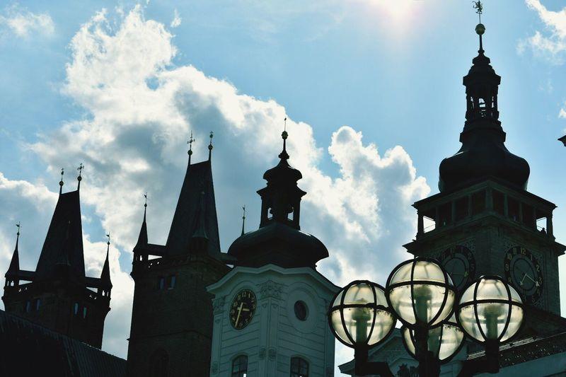 Hradec Kralove Cloud - Sky city Czech Republic🇨🇿