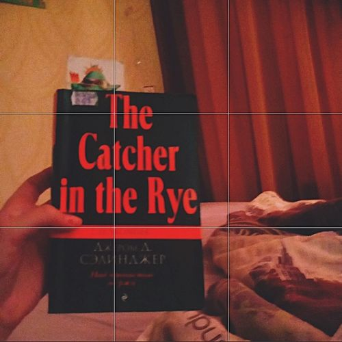 Cozy уют Feel Winter Evening Pic Tumbler The Catcher In The Rye J D Salinger J.D. Salinger