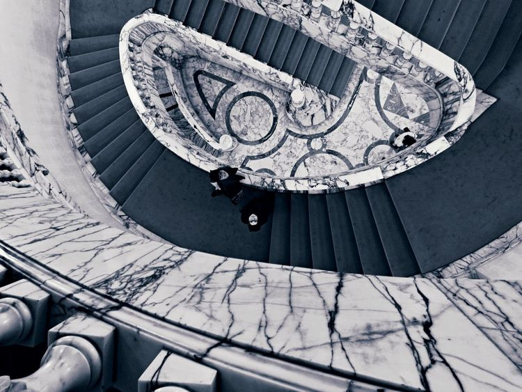 Spiral Built Structure Architecture Travel Destinations Spiral Staircase Architecture Two People Art Is Everywhere TPCM The Architect - 2017 EyeEm Awards BYOPaper! The Week On EyeEm