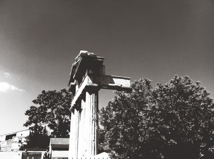 That one time in Athens Greece Architecture Black & White Summer