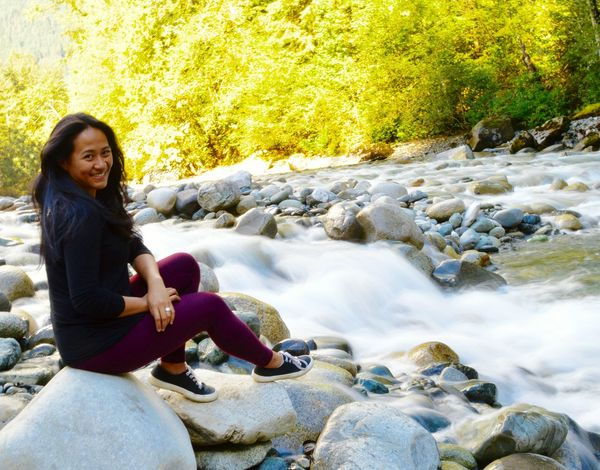 Water Flowing Water Casual Clothing Flowing Sitting Stream Day Outdoors Relaxation Scenics Rock Beauty In Nature Tranquility Non-urban Scene Nature Othello Tunnels