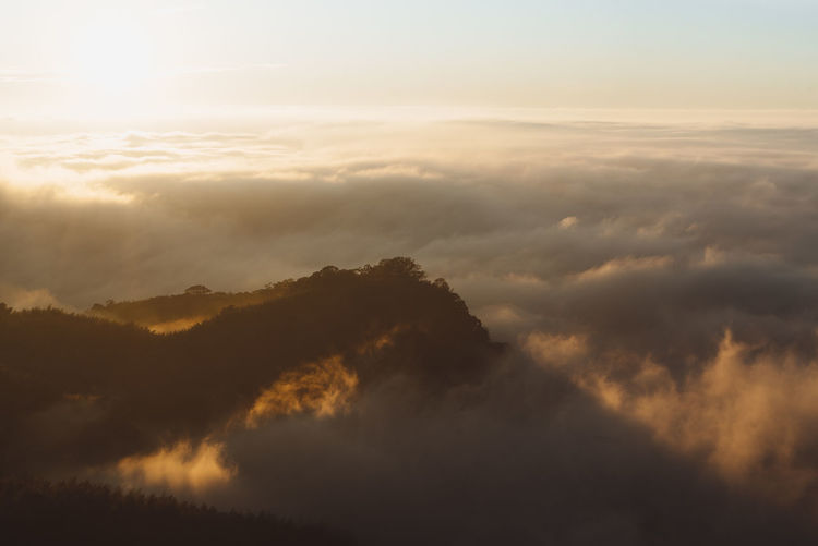 Sea of clouds Above The Sky Cloudscape Sea Of clouds Sunset And Clouds  Sunset_collection Taiwan The Great Outdoors - 2018 EyeEm Awards Above The Clouds Clouds Landscaoe Landscape Mountain Outdoors Sea Sunset Sunsetporn Sunsets Sunshine