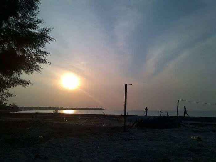 Rupatisland beach Sunset
