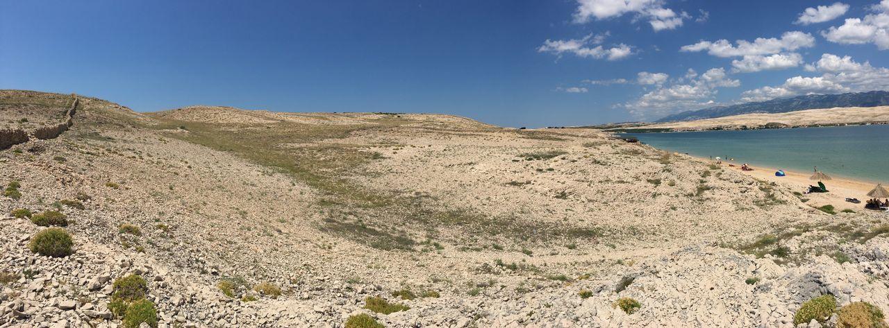 Pag Croatia Island EyeEm Selects Sky Water Beauty In Nature Land Sea Beach First Eyeem Photo