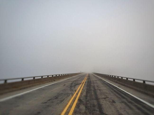 IPhoneography Tinyshutter Fog Foggy Foggy Morning Morning Bridge Bridges