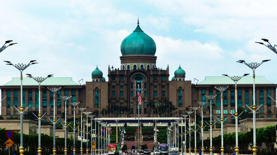 DataranPutrajaya Putrajaya, Malaysia Architecture Building Exterior Built Structure City Cloud - Sky Dome Malaysia Malaysian Cultur Sky Travel Destinations