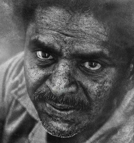 Iqbal Human Face Open Your Eyes For Amnesty International Black And White Portrait Leyonphotography