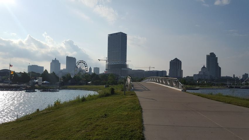 Lake Michigan Downtown Milwaukee Urban Exploration Outdoors Water Summer2015 Lakeshore State Park Urbanexploration City Life Bridges